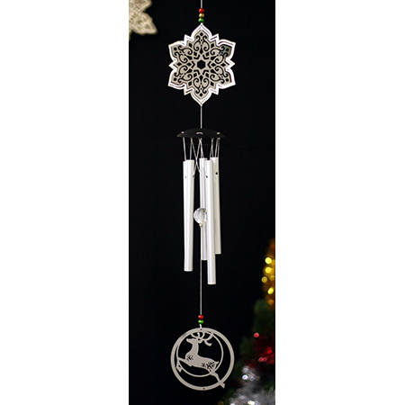 Snowflake Wind Chimes - CW02123RD