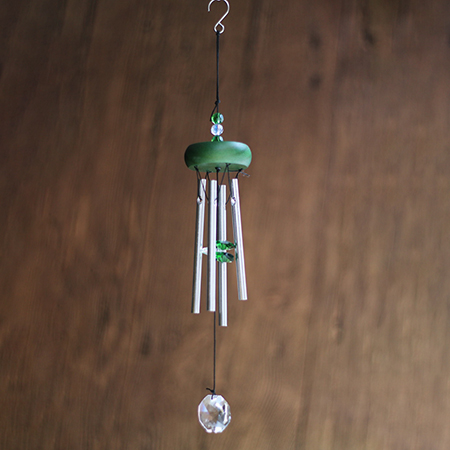 Green Wind Chimes - GC03610AB