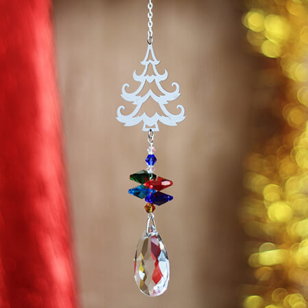 Christmas Tree Wind Chime - SC01210AD
