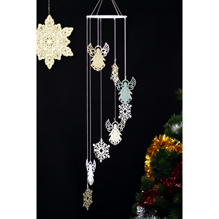 Spiral Wind Chime - CW02430AG
