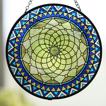 Stained Glass Dreamcatcher - SC02106BD