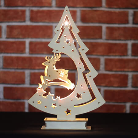 Wooden Tree Light - CW07312AE