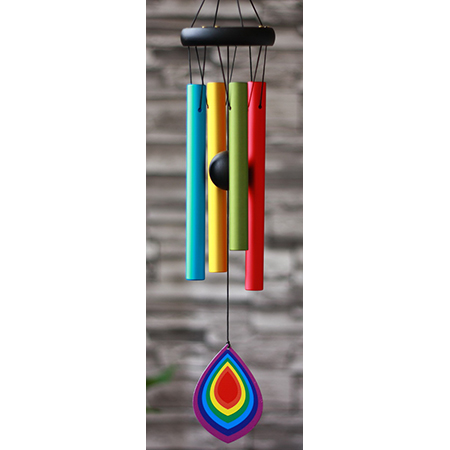 Rainbow Wind Chime - IC01321RB